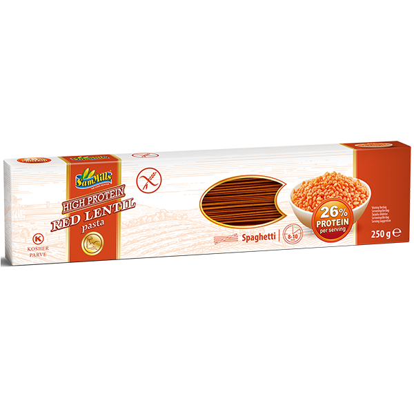 400349 Red Lentils Spaghetti 250 g