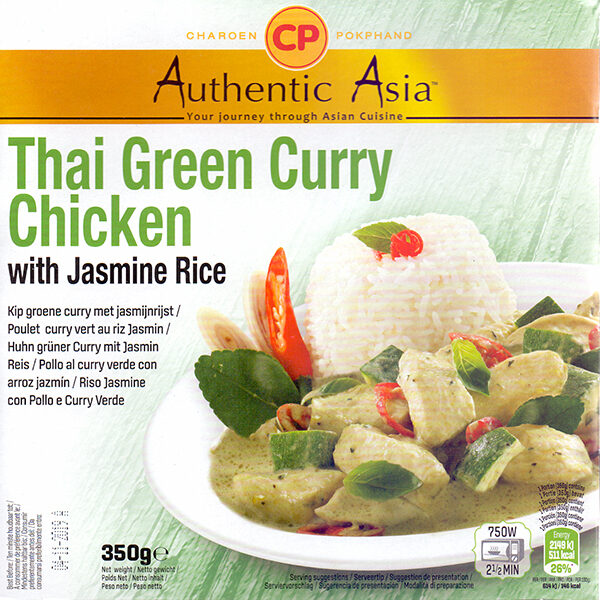 405001 Thai Green Curry Chicken