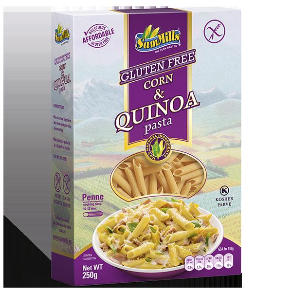 50190 Corn & Quinoa Penne